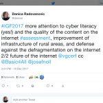 Lessons from the Internet Governance Forum, Geneva #IGF2017